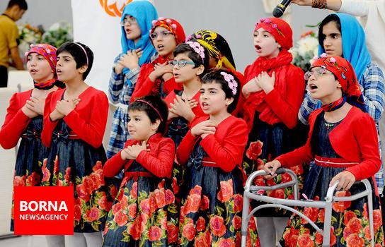 به همت اداره بهزیستی جشن بزرگ رمضان ۹۵  در شهرستان ملارد برگزار شد