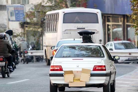 جریمه و مجازات پوشاندن پلاک خودرو چیست؟