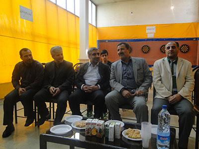 احمد زارع شهردار شاهد شهر رئیس هیئت تیرانداز تفنگ شهریار شد