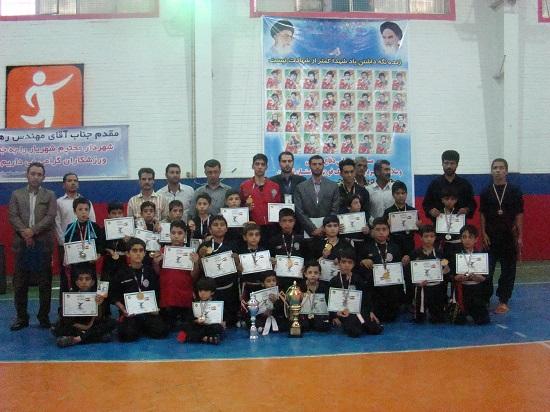 برگزاری مسابقات دفاع شخصی استان تهران در شهریار