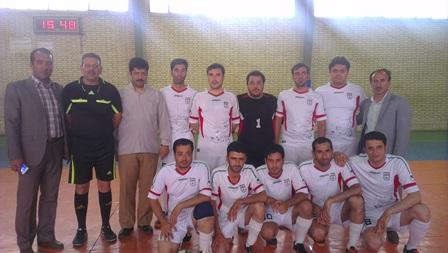 مسابقات فوتسال ادارات شهرستان شهریار آغاز شد