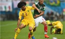 مکزیک برابر کامرون به پیروزی رسید