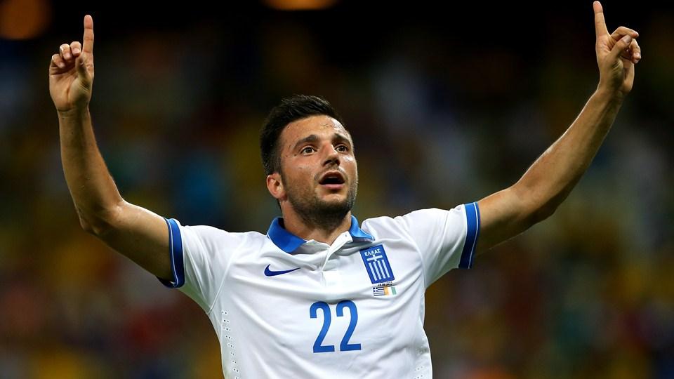 یونان در دقیقه 92 صعود کرد