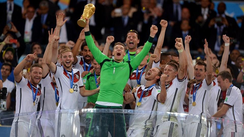 گزارش تصویری / ژرمنها قهرمان جام بیستم