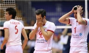 تیم ملی والیبال ایران در سومین بازی خود در لیگ جهانی 2015 مقابل لهستان تن به شکست داد