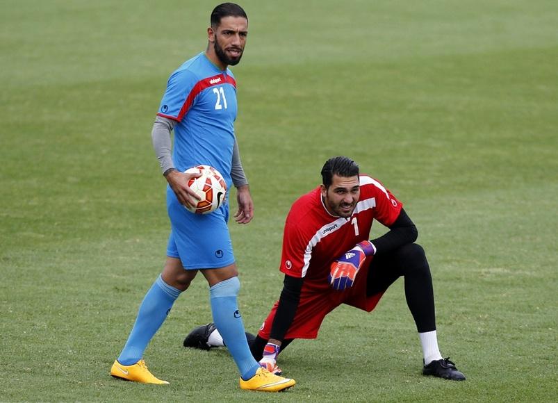 تمرین امروز تیم ملی (گزارش تصویری)