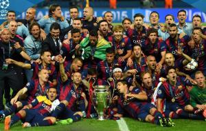 بارسلونا قهرمان چمپیونزلیگ شد