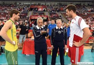شاهمیری در بین 12 داور برتر والیبال جهان