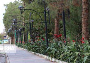 بوستان بانوان در شاهد شهر افتتاح شد