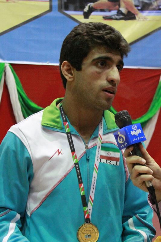 بیوگرافی علی محمدی کشتی گیر شهریاری