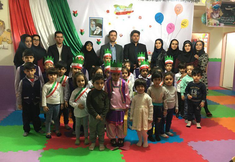 افتتاح مهدکودک دنیای آرزوها به منا سبت دهه فجر در شهرستان ملارد