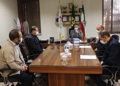 جلسه بررسی وضعیت کیوسکهای مطبوعاتی در شهرستان شهریار برگزار شد