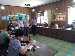 برگزاری ازمون انجمن خوشنویسان شعبه شهرجدید اندیشه شهرستان شهریار