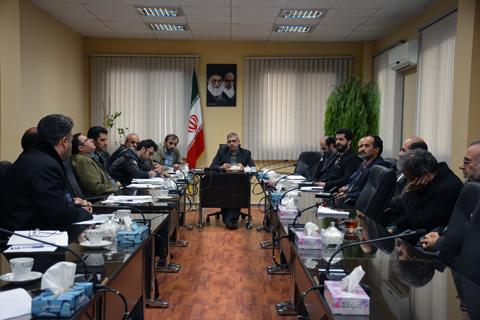 جلسه کارگروه منابع طبیعی و آب کشاورزی رباط کریم برگزار شد
