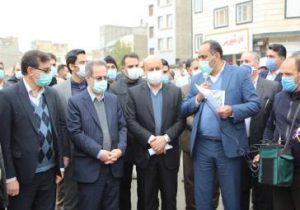 پروژه انتقال آب شرب از خط الغدیر ۲ تهران به باغستان شهریار
