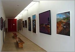 برپایی نمایشگاه آثار نقاشی اساتید و هنرمندان جوان