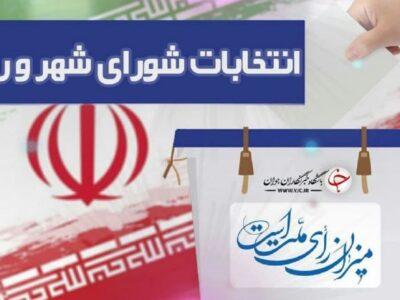 لیست اسامی داوطلبان انتخابات ششمین دوره شورای اسلامی، شهرهای شهرستان شهریار