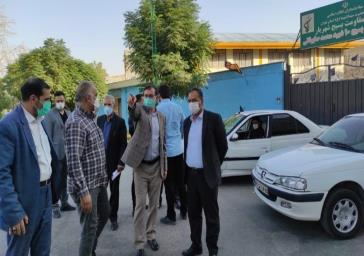 بازدید نماینده مردم شهرستان های شهریار، ملارد و شهرقدس در مجلس شورای اسلامی به همراه مدیر امور منابع آب