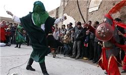 گروه شبیه خوانی حضرت ابوالفضل العباس ( ع ) درفاز یک اندیشه