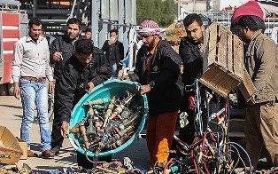 جمع آوری۷۰۰ جام قلیان در شهریار