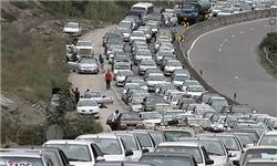ترافیک سنگین در آزادراه کرج-تهران و جاده مخصوص کرج-تهران
