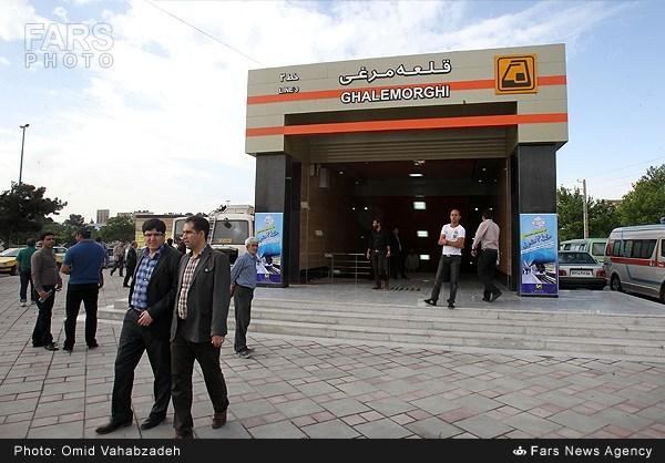طولانیترین خط مترو خاورمیانه امروز در تهران افتتاح شد
