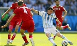 مسی آرژانتین را نجات داد