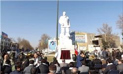 تندیس شهید کلهر در شهریار رونمایی شد