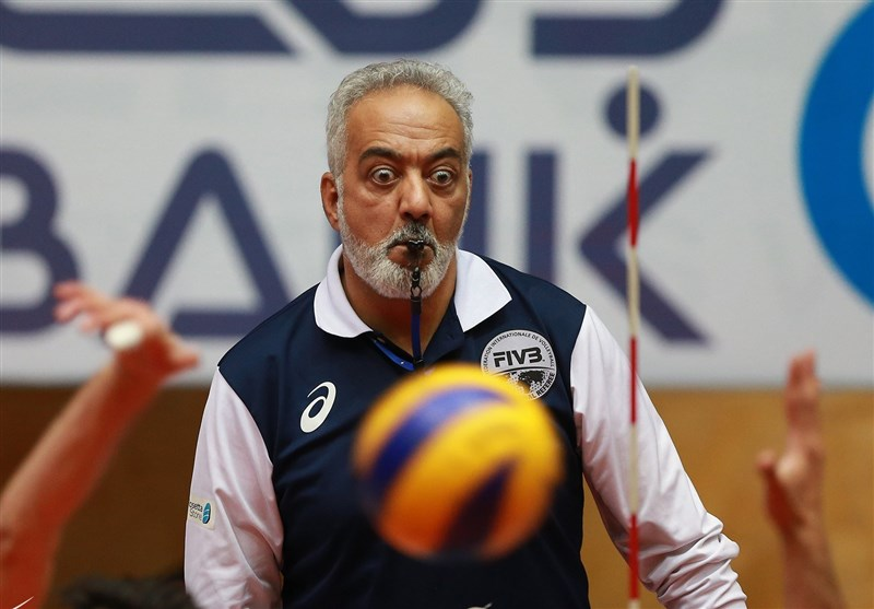 بازنشستگی رسمی فرهاد شاهمیری داور سرشناس والیبال