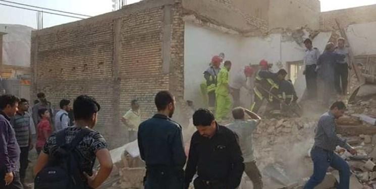 یک کشته و ۳ مصدوم بر اثر انفجار گاز در شهریار/ نجات کودک ۲ ساله از زیر آوار