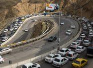 تردد خودروها به خارج از استان تهران ممنوع شد