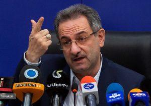 استاندار تهران: شش شهرستان استان در وضعیت آبی کرونایی و مابقی زرد هستند