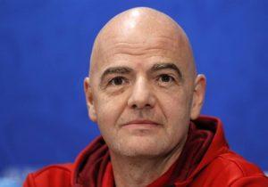 تست کرونای جانی اینفانتینو رئیس فدراسیون جهانی فوتبال مثبت اعلام شد