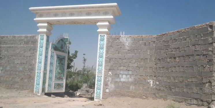 قصر طاووس پرحاشیه شهریار تخریب شد