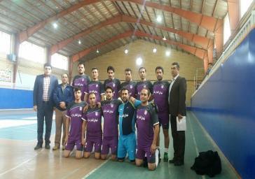 صعود تیم فوتسال شهرستان ملارد به مرحله نهائی مسابقات روستائی استان تهران