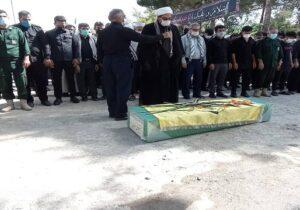 تشییع پیکر مطهر شهید مدافع حرم در شهریار