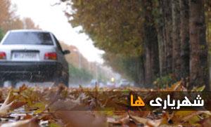 گزارش تصویری/حال و هوای بارانی طبیعت شهریار