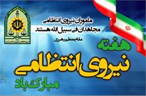 آغاز هفته ناجا با شعار «اقتدار پلیس همدلی و همزبانی امنیت و آرامش»