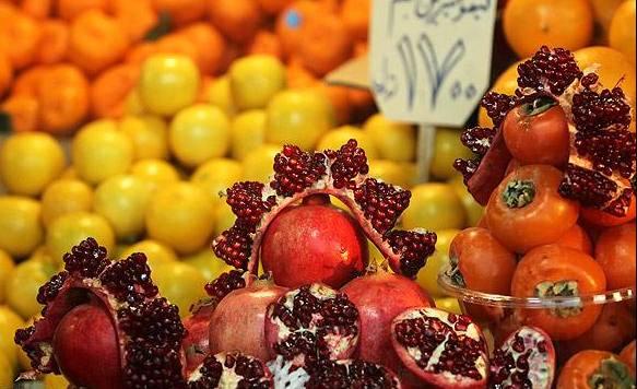 قیمت میوه شب یلدا در نقاط مختلف تهران