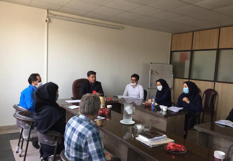 نشست مدیران مراکز غیر دولتی توانبخشی با مسئولین اداره بهزیستی شهرستان ملارد