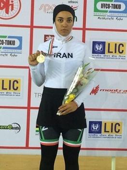 بانوی سرعت ایران: در ایران پیست دوچرخهسواری با استاندارد بینالمللی نداریم