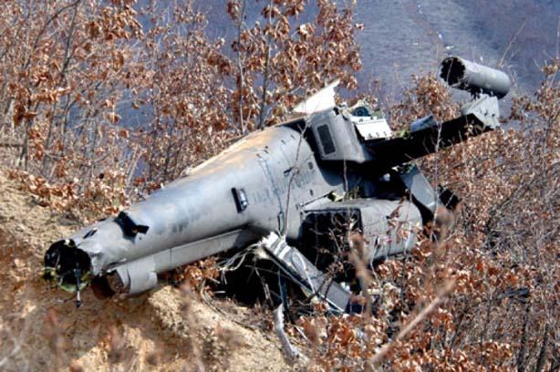 سقوط یک بالگرد آموزشی در اخترآباد ملارد