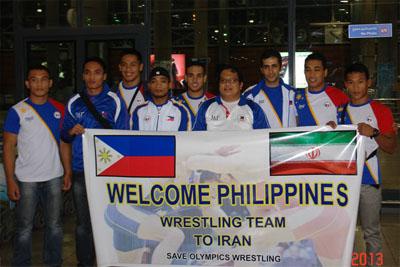 اردوی تیم ملی کشتی فیلیپین در شهرستان شهریار