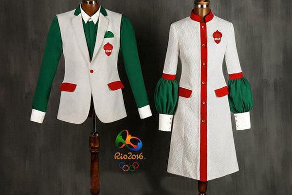 تصویری از طرح نهایی لباس کاروان ورزش ایران برای المپیک ۲۰۱۶ ریو