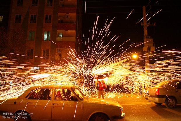 ثبت ۵۳۳ مصدوم و ۳ فوتی طی حوادث چهارشنبه سوری ۹۹ در استان تهران