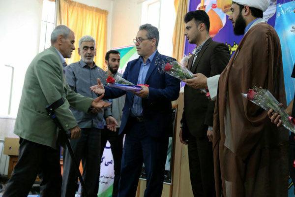 ۵۰ جانباز شهر « امیریه» تجلیل شدند/استقلال کشور مرهون جانبازان