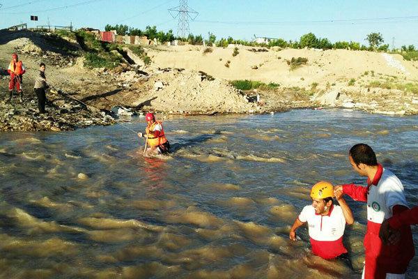 پیکر کودک غرق شده در رودخانه « شادچای» شهریار پیدا شد