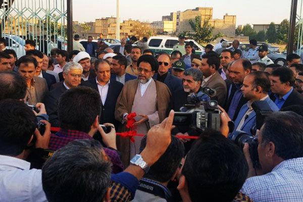 با حضور وزیر اطلاعات؛ دو پروژه عمرانی شهرستان شهریار افتتاح شد