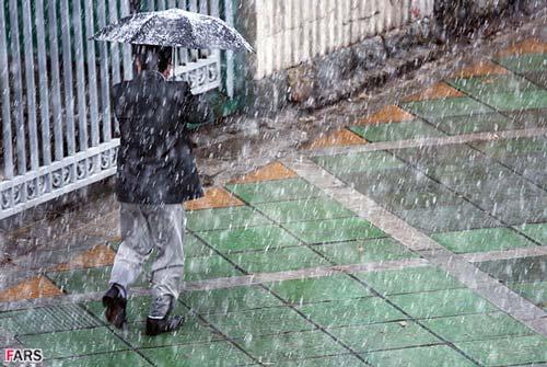 بارش باران در استان البرز از روز دوشنبه دوباره آغاز می شود
