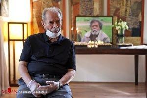 حضور هنرمندان در منزل مرحوم محمد علی کشاورز / گزارش تصویری
